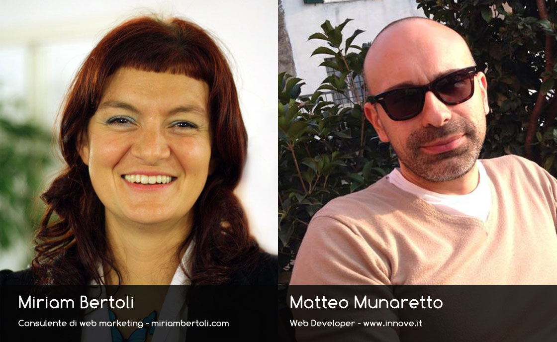 Miriam Bertoli e Matteo Munaretto