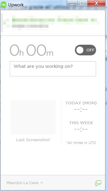 lavori pagati ad ore su Upwork