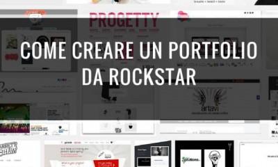 creare portfolio