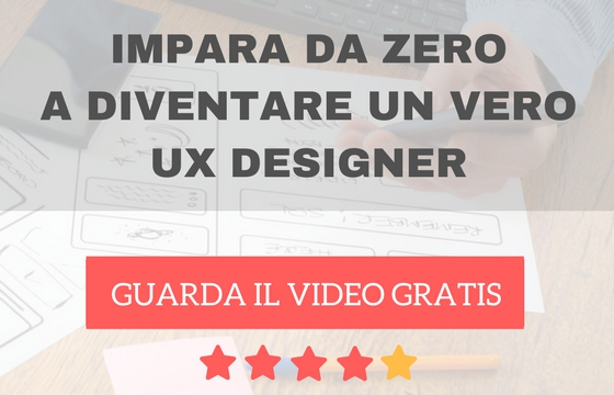 corso ux design in italiano